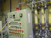 ハナビラタケ子実体熱水抽出エキスの除菌フィルター設備